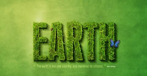 earthh-text-effect