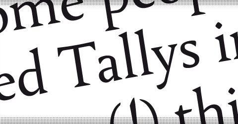 tallys