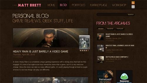 Matt Brett Blog