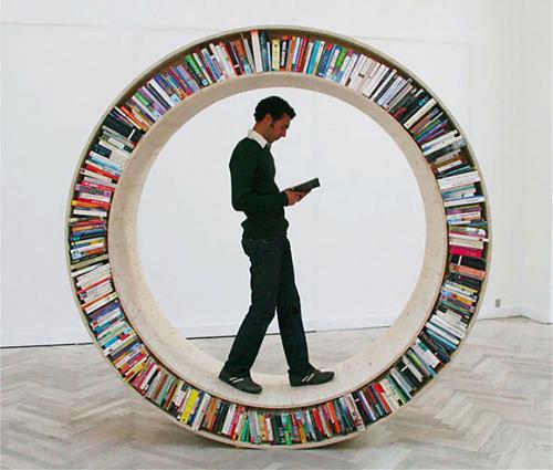 Creative Bookshelves