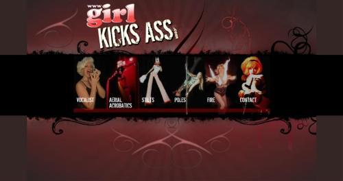 GIRL KICKS ASS