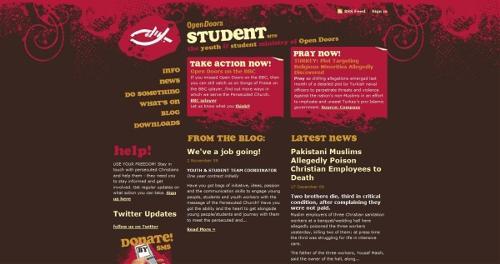 Open Doors Student Site