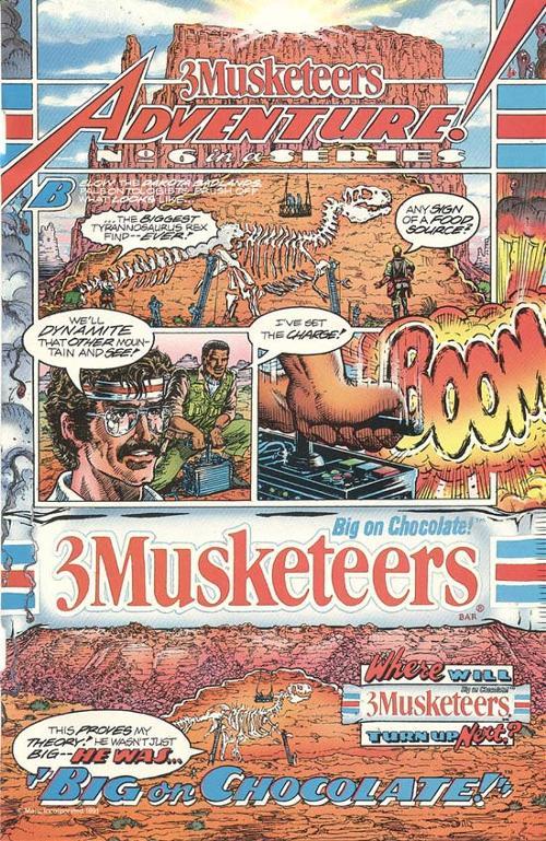 3 Musketeers - 1991