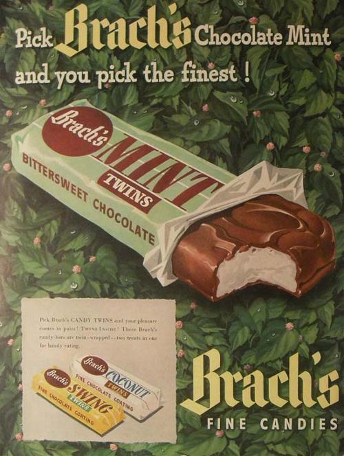Brach's Chocolate Mint - 1940s