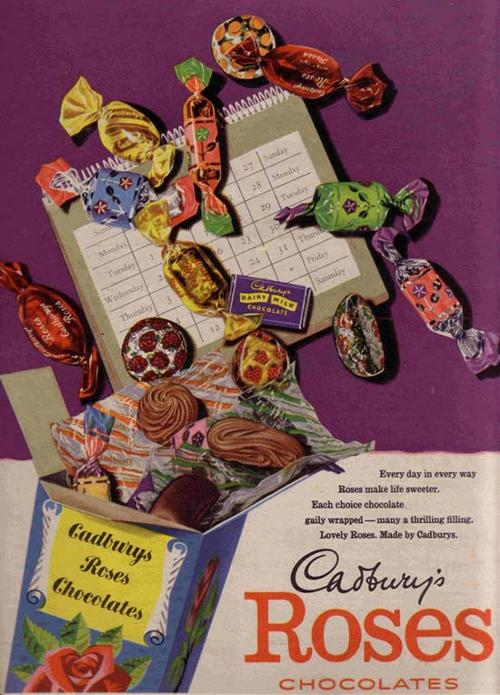Cadbury's Chocolates - 1957