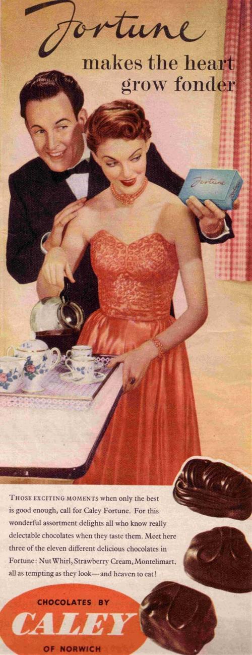 Caley Chocolates - 1952