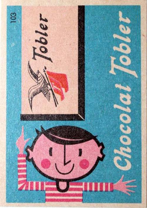 Chocolate Tobler - 1960s
