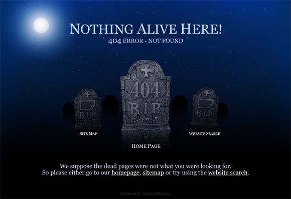 404 Error Templates