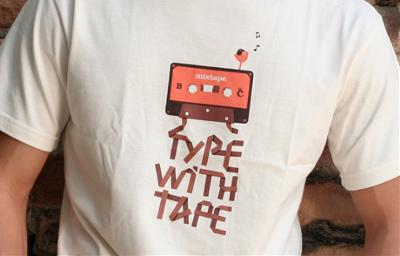Type with tape 2