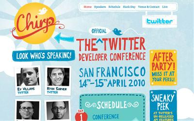 Chirp - The Twitter Developer Conference