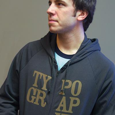 Typography Hoodie