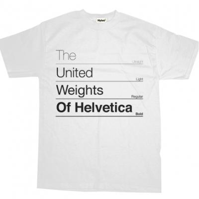 The United Weights of Helvetica