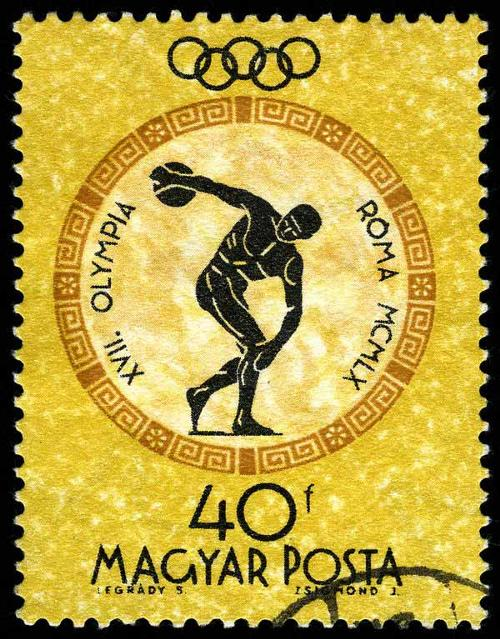 1960 Hungary  - Discobole Olympic Games Rome