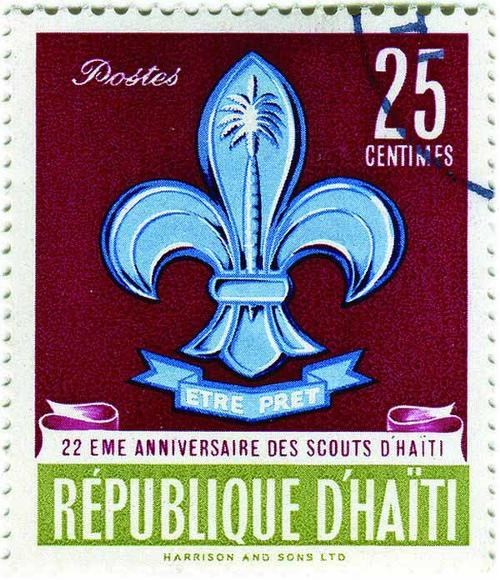 1962 Haiti - 22nd Anniversary of Scouting in Haiti