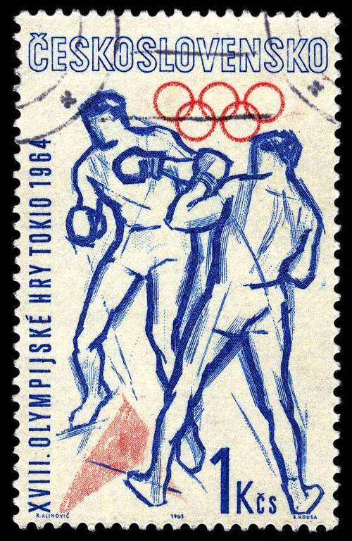 1963 Tchekoslovakia  - Olympic Games Tokio 1964