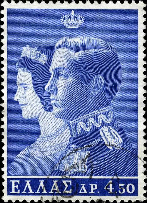1964 Greece - Marriage of King Constantin II