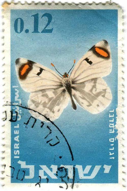 1965 Israel - Butterfly