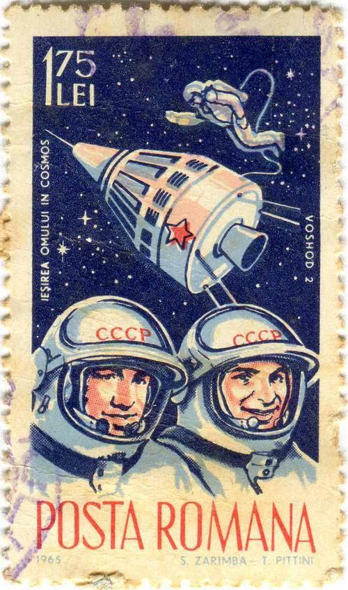 1965 Romania - Alexey Leonov