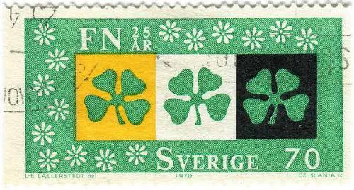 1970 Sweden - Four-Leafed Clover
