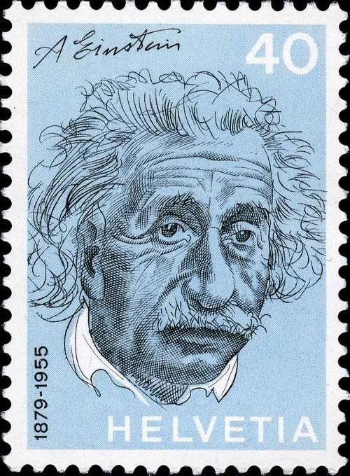 1972 Switzerland- Albert Einstein