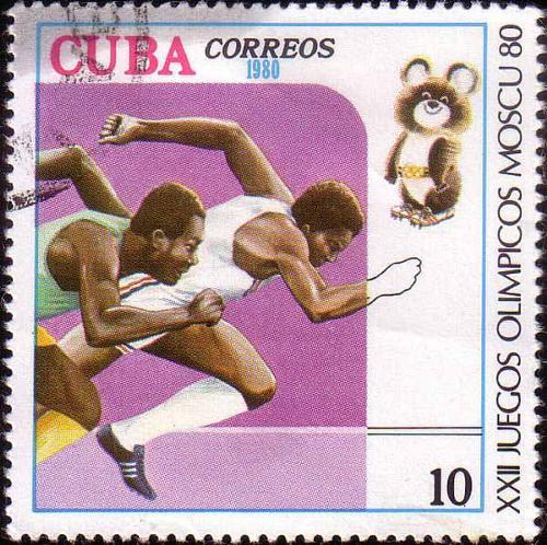 1980 Cuba - XXII Juegos Olímpicos Moscu