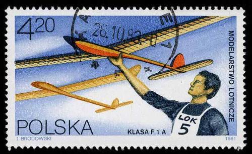 1981 Poland - Model Planes Lotnicze F1A class