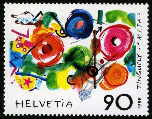 1988 Switzerland - Jean Tinguely