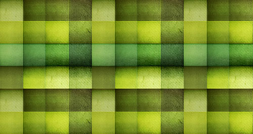 Dice green pattern