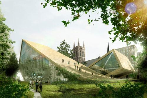 Another Beautiful Arts Museum proposal in Quebec, Canada 1