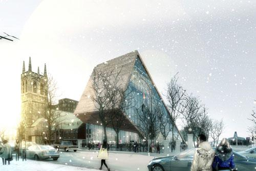 Another Beautiful Arts Museum proposal in Quebec, Canada 2