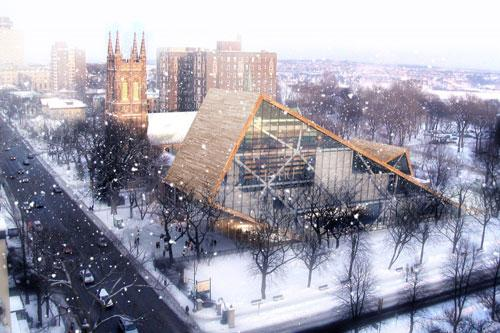 Another Beautiful Arts Museum proposal in Quebec, Canada 3