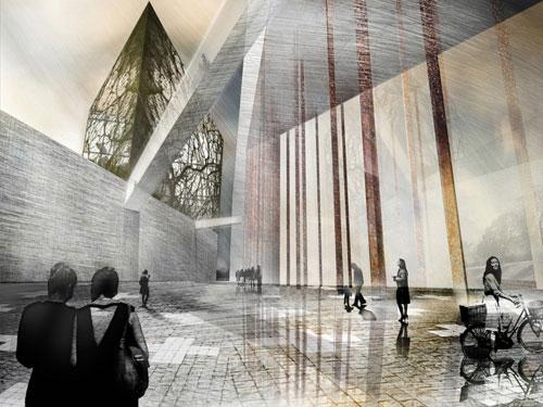 Museum of WWII in Gdańsk Competition proposal by A4 Studio 1