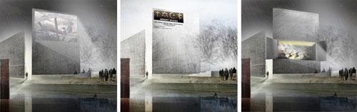 Museum of WWII in Gdańsk Competition proposal by A4 Studio 3
