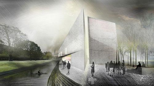Museum of WWII in Gdańsk Competition proposal by A4 Studio 2