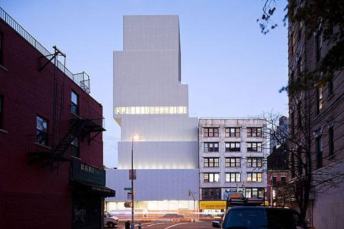 New Art Museum in New York, USA