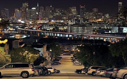 San Francisco from Portrero Hill