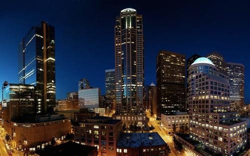 Downtown Seattle Twilight