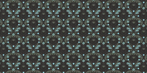 phosphorescents background tileable and seamless pattern
