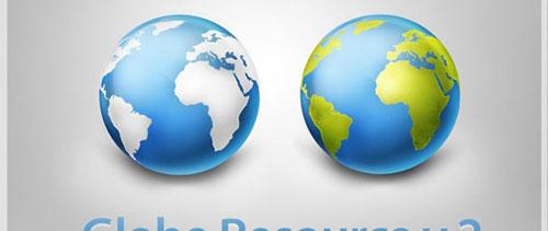 Globe free psd file
