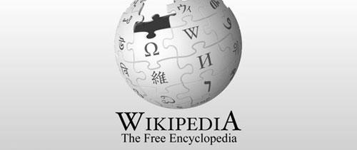 Wikipedia logo free psd file
