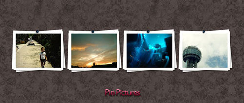 Pin pictures free psd file