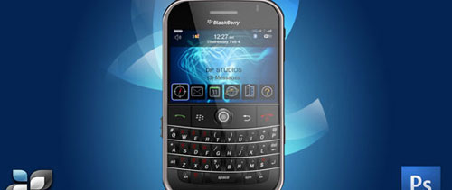 RIM Blackberry free psd file