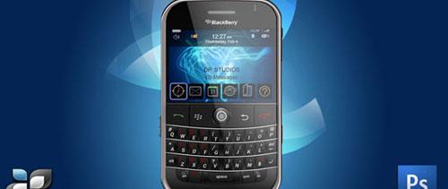 RIM Blackberry free psd file