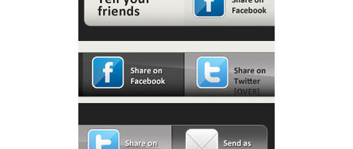 Share Button Kit free psd file
