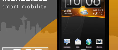 HTC Smartphone free psd file