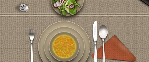 Lunch icons free psd file