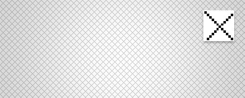 Cross hatch pattern