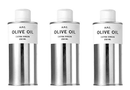 APC Olive Oil package design