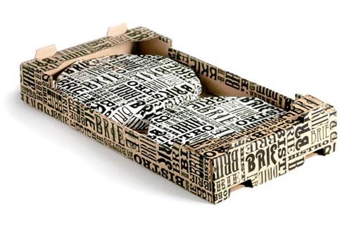 Brie Bistro package design
