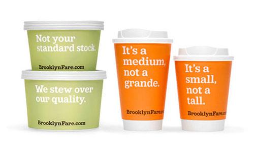 Brooklyn Fare package design